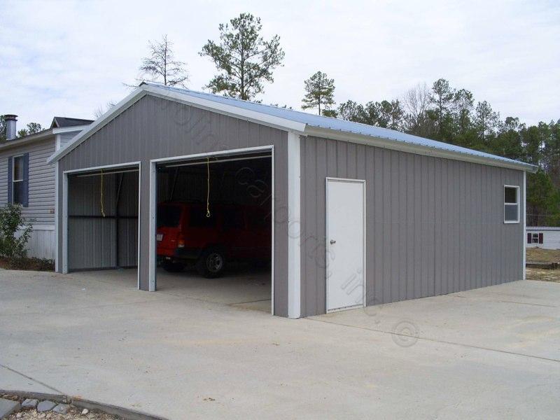 Carolina Carports Doors : Myhandihouse enclosed garages